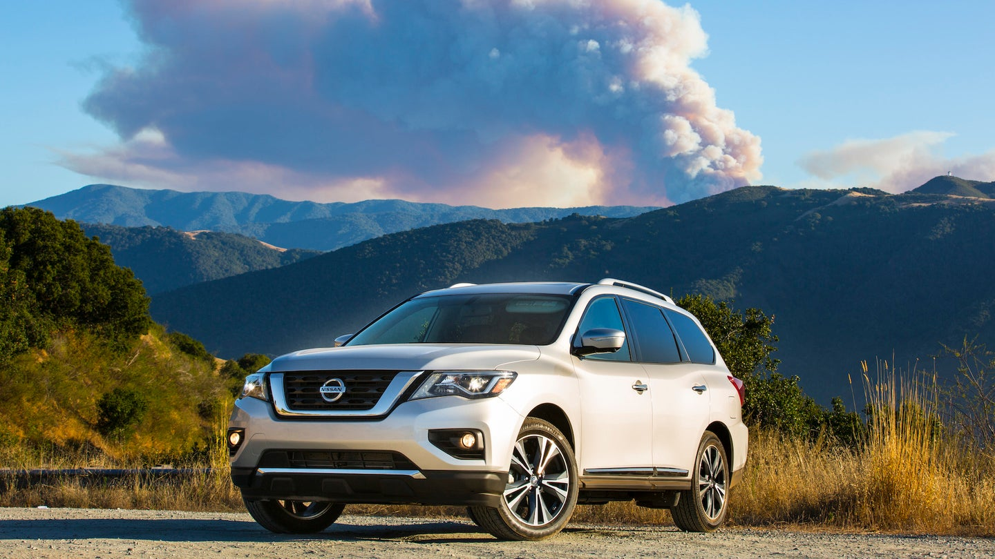 Nissan announces 2018 Pathfinder U.S. pricing