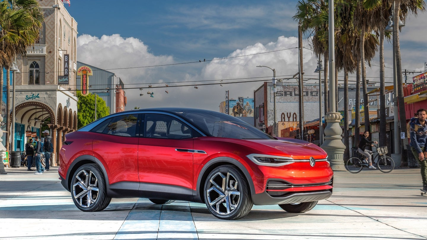 Volkswagen ID.4 Electric Crossover Will Debut at New York ...