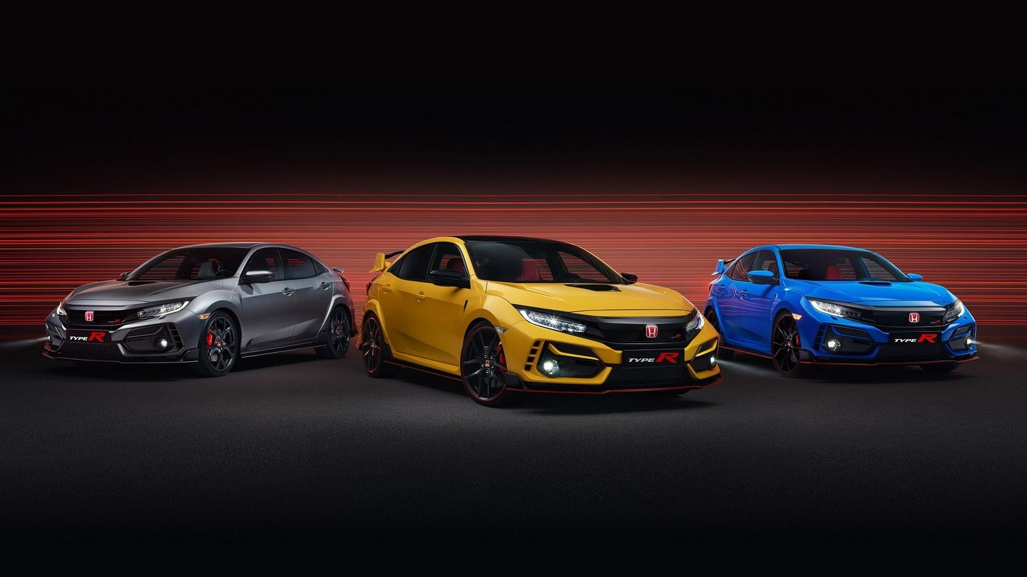 2020 Civic Type R Line Up