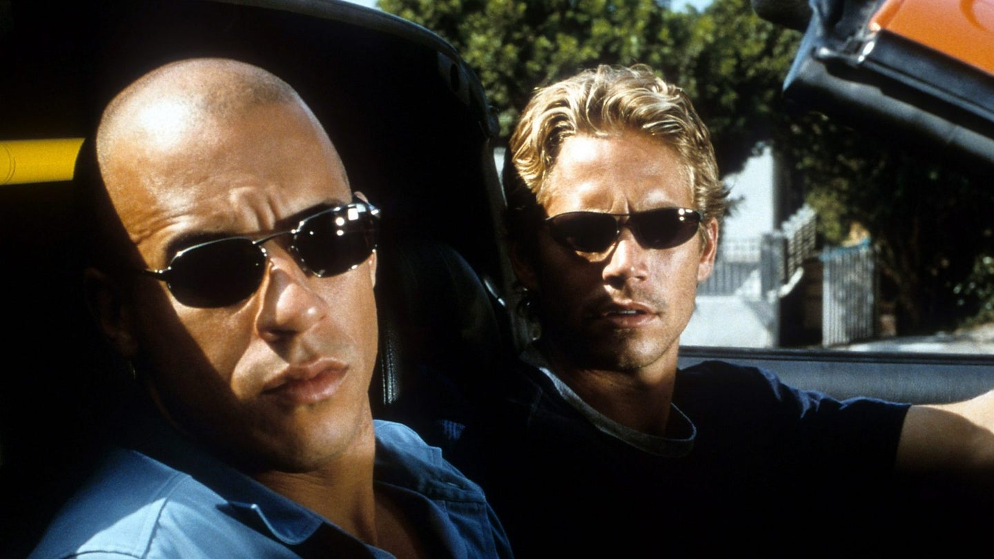 Vin Diesel And Paul Walker In 'The Fast And The Furious'