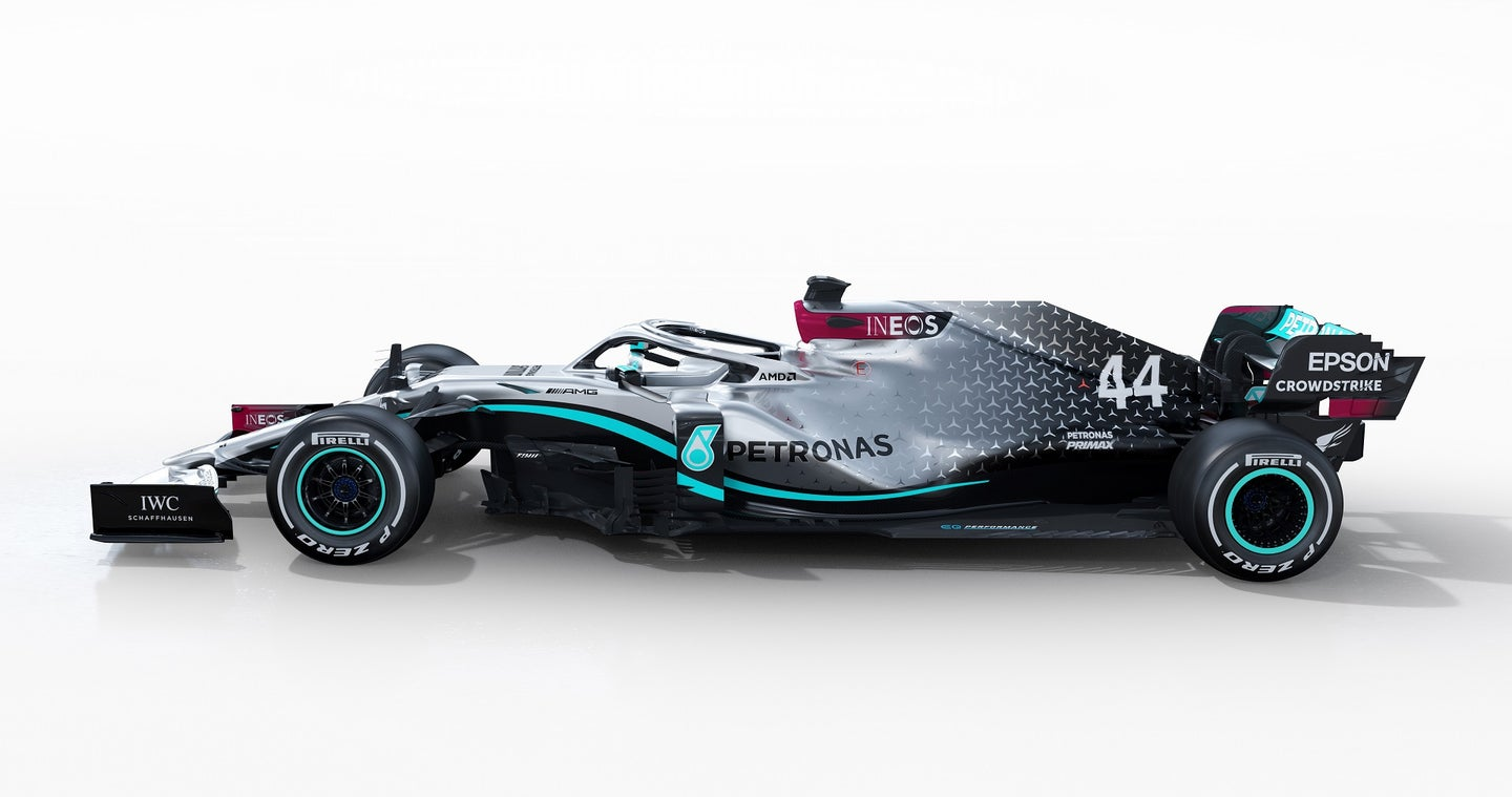 Mercedes-AMG F1 W11 EQ Performance  - Render