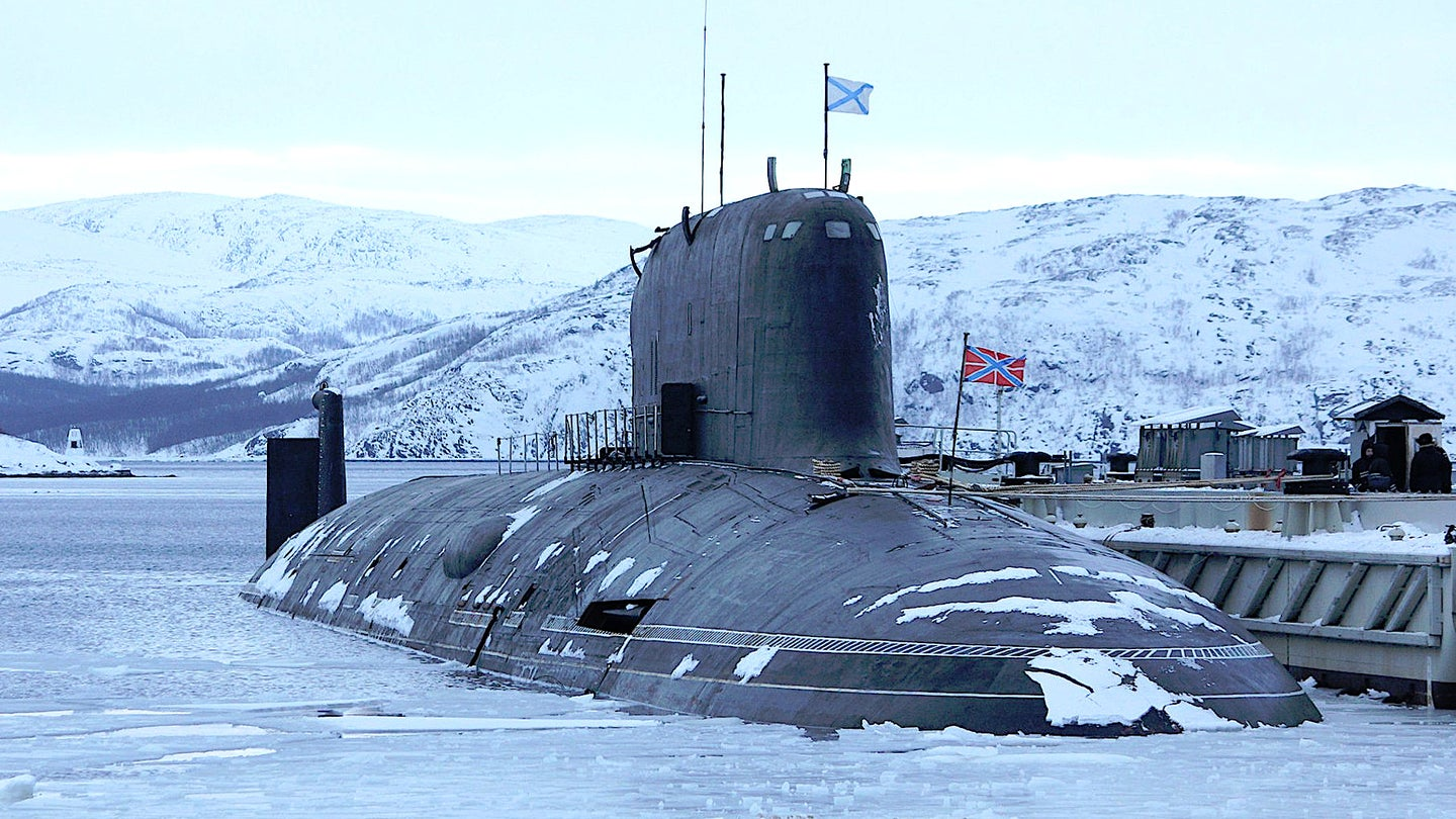 The Project 885 Yasen class submarine Severodvinsk.