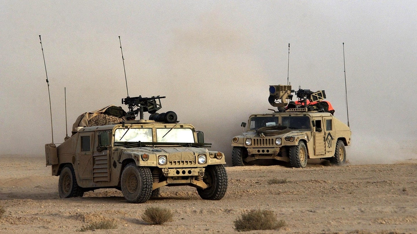 U.S. 3rd Division Moves Through Iraq