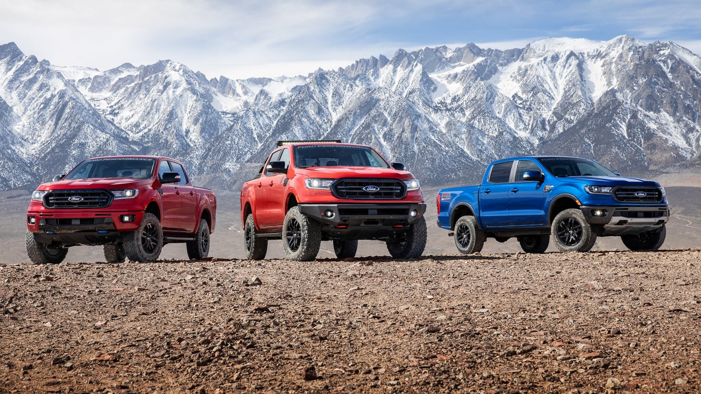 Ford Ranger Performance Packages