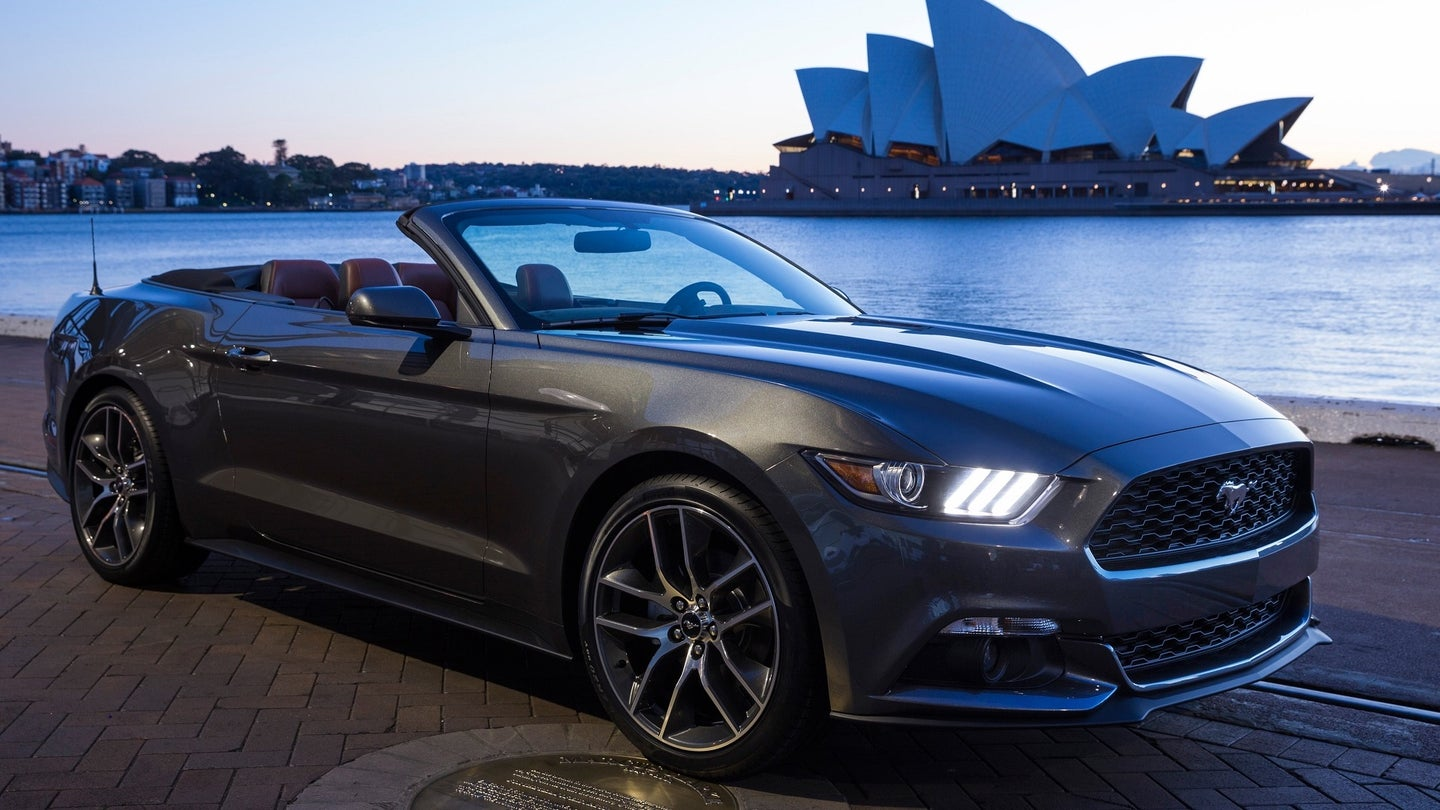 Ford Mustang in Australia