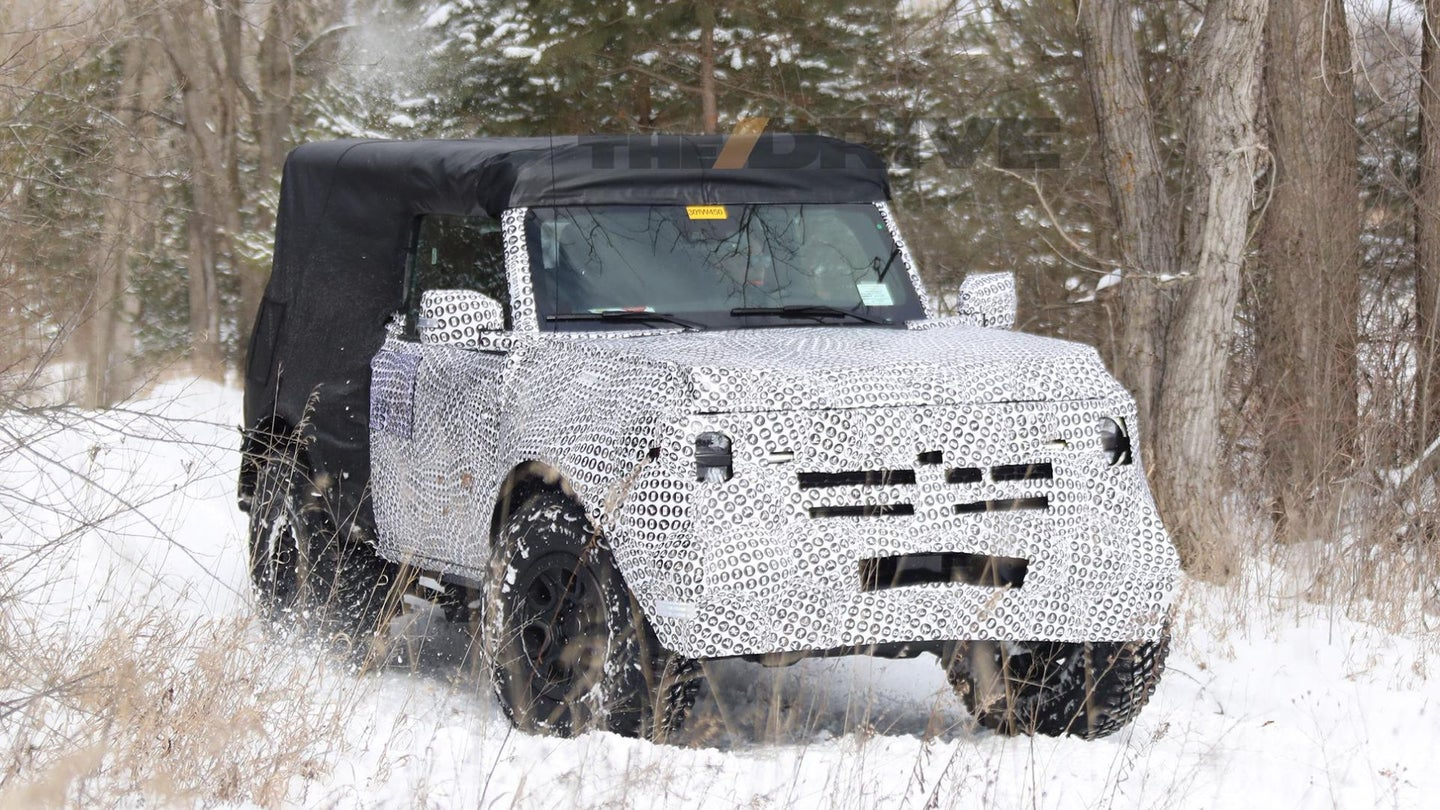 We'll Finally See the New 2021 Ford Bronco in July - The Drive