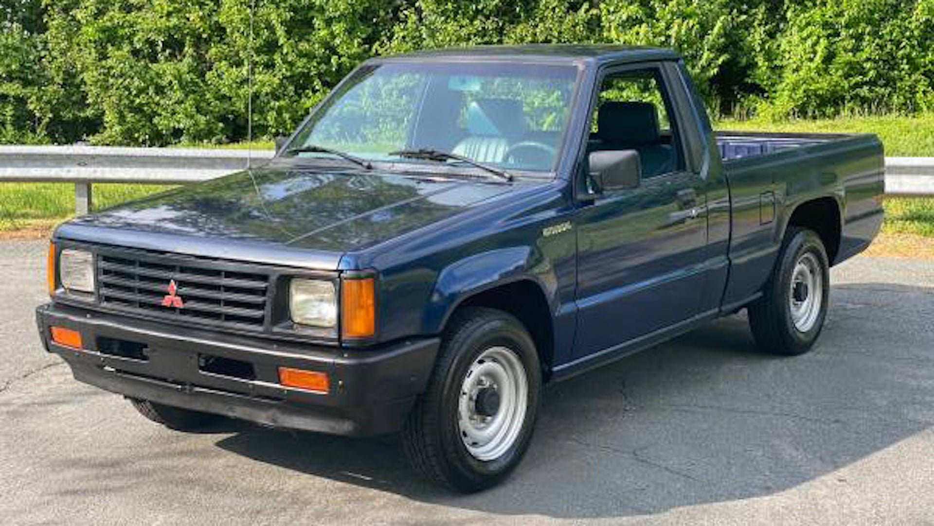 One-Owner, 246,000-Mile Mitsubishi Mighty Max Is Just ...