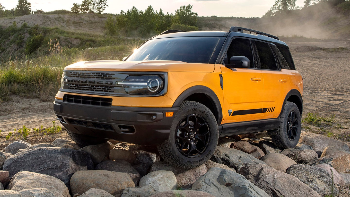 2021 ford bronco sport the 28k 'baby' bronco is built