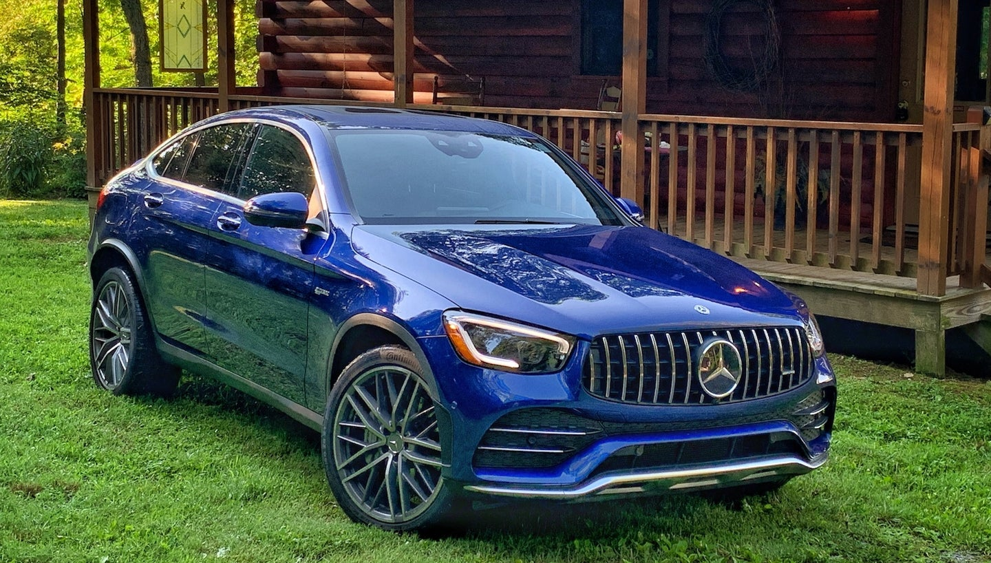 2020 Mercedes-AMG GLC 43 Coupe: Plenty Of Go, But Let's ...