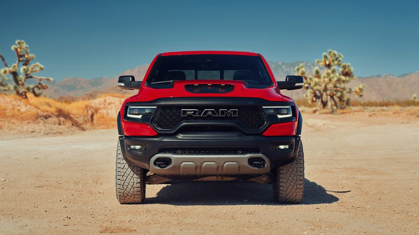 2021 ram trx is the first factory supercharged truck since