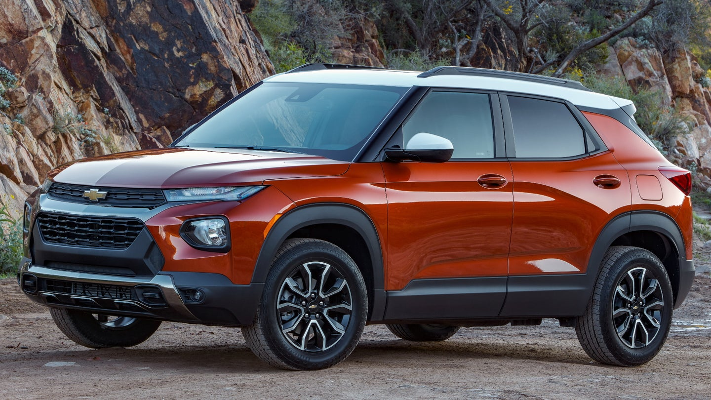 the 2021 chevy trailblazer spends the shortest time of any
