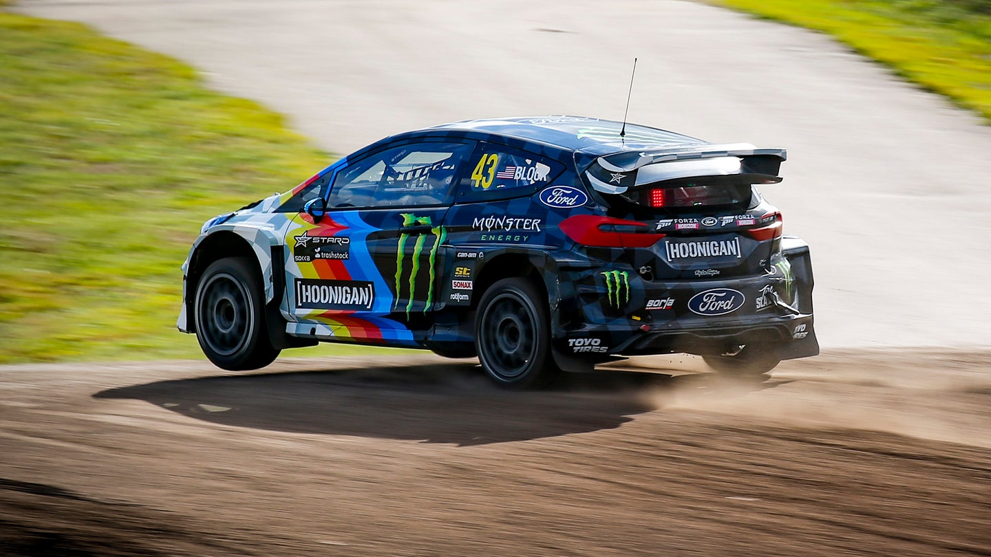 2020 FIA World Rallycross Championship / ProjektE / Round 01 & 02 / Höljes, Sweden / August 21-23, 2020 // Worldwide Copyright: Hoonigan Racing Division