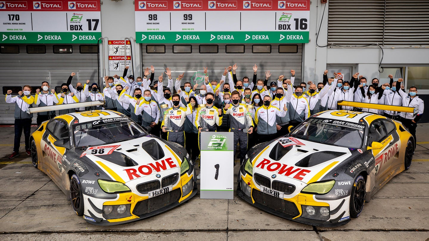BMW Emerges Victorious at Nurburgring 24 After 9.5-Hour ...