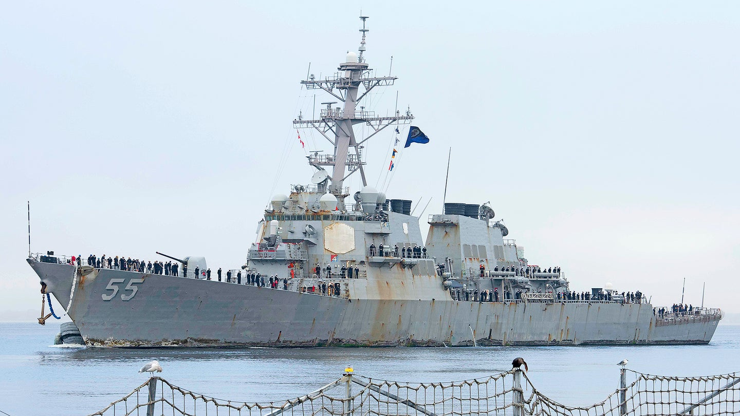 USS Stout (DDG 55) Returns to Naval Station Norfolk