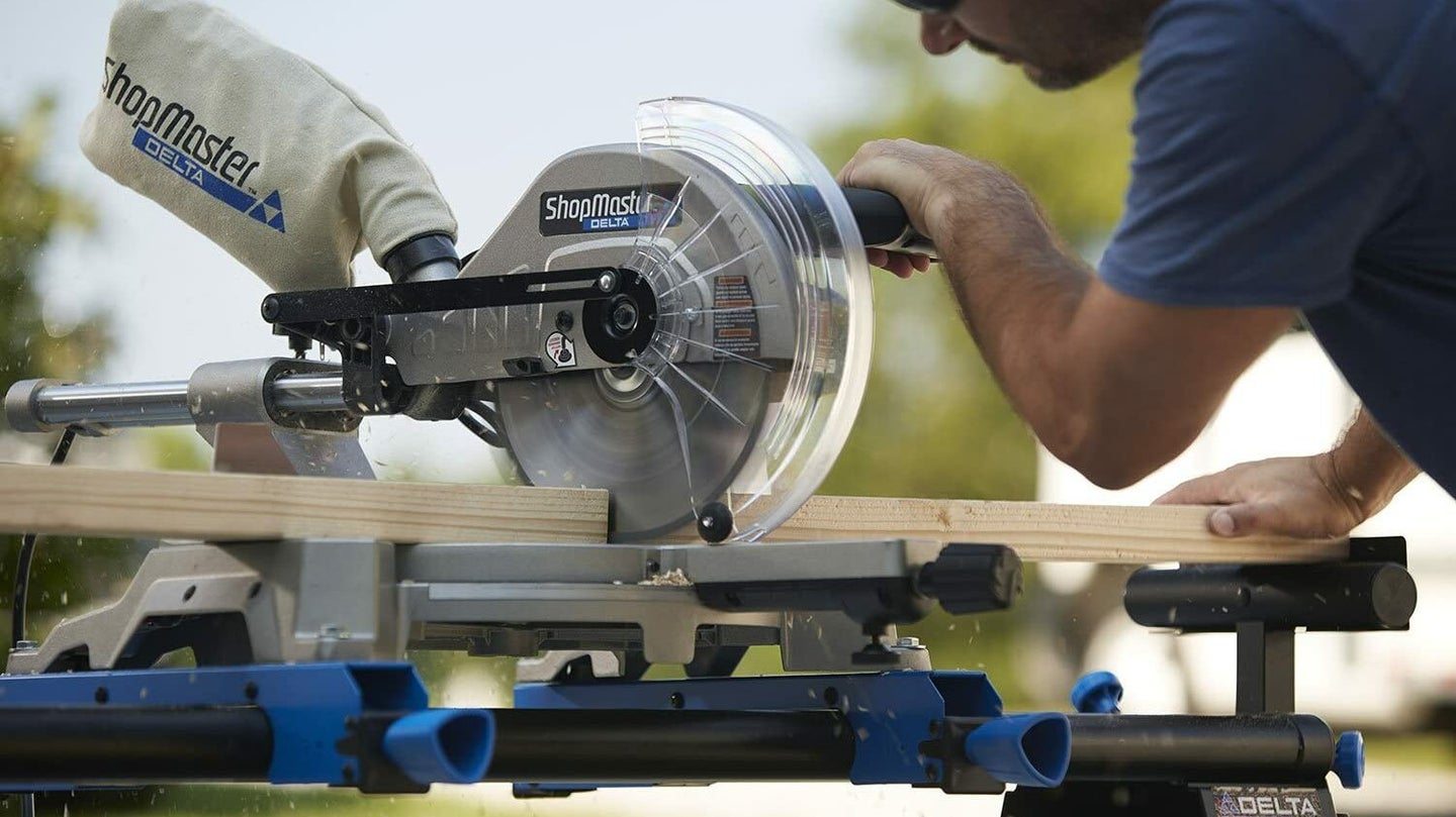 Radial Arm Saw Close Up