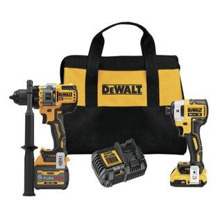 $100 OFF DeWalt 20-Volt MAX Cordless Brushless Drill/Driver Combo