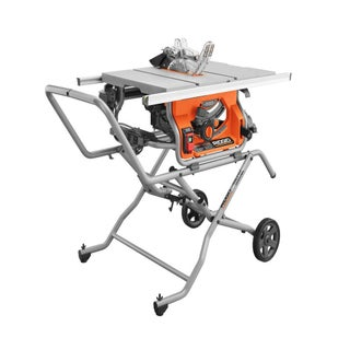 RIDGID 10-inch Pro Jobsite Table Saw with Stand