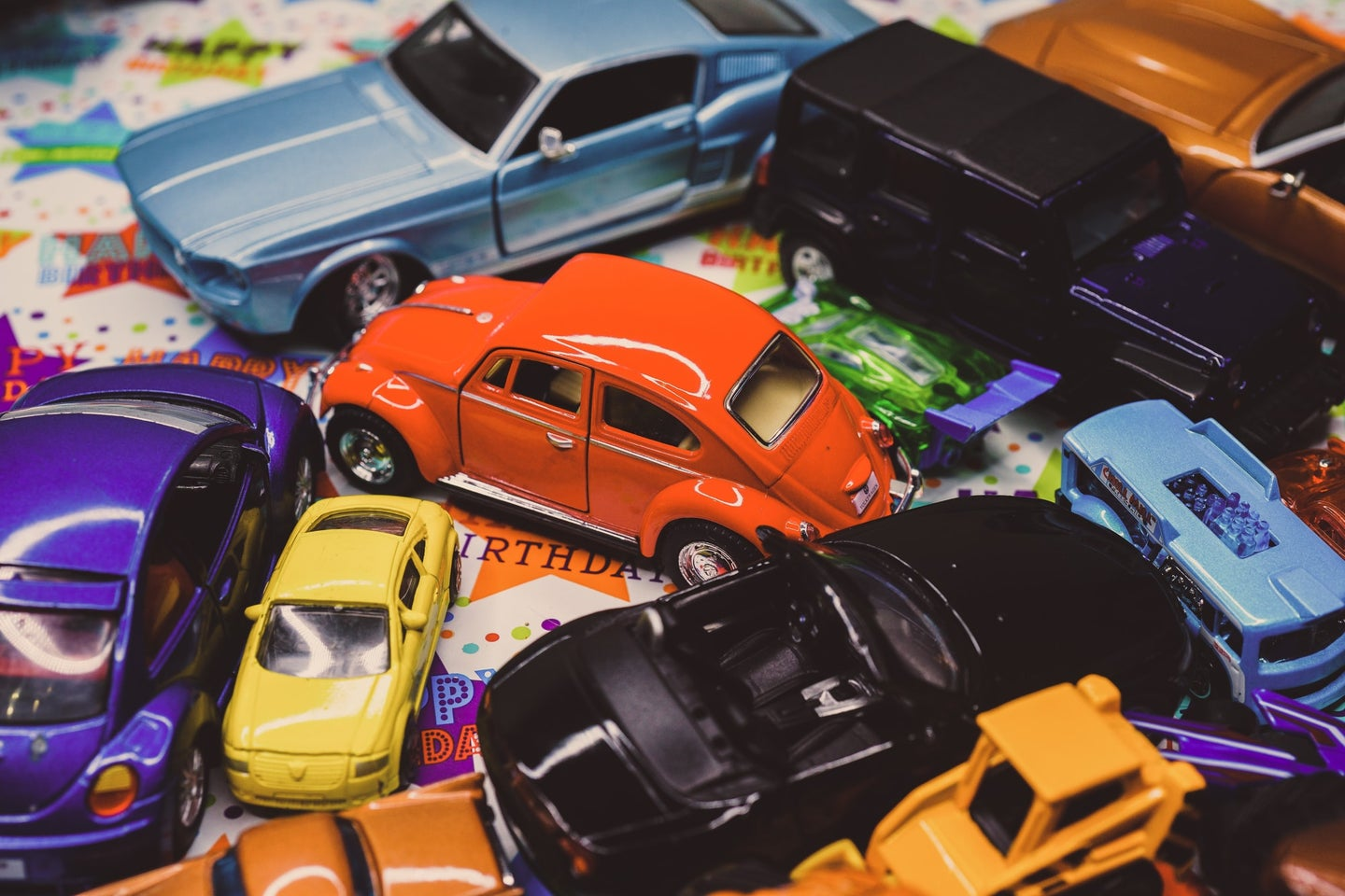 Different car toys