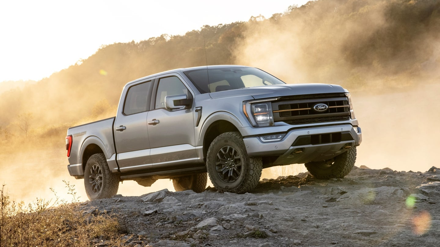 2021 ford f-150 tremor: off-road suspension, locking