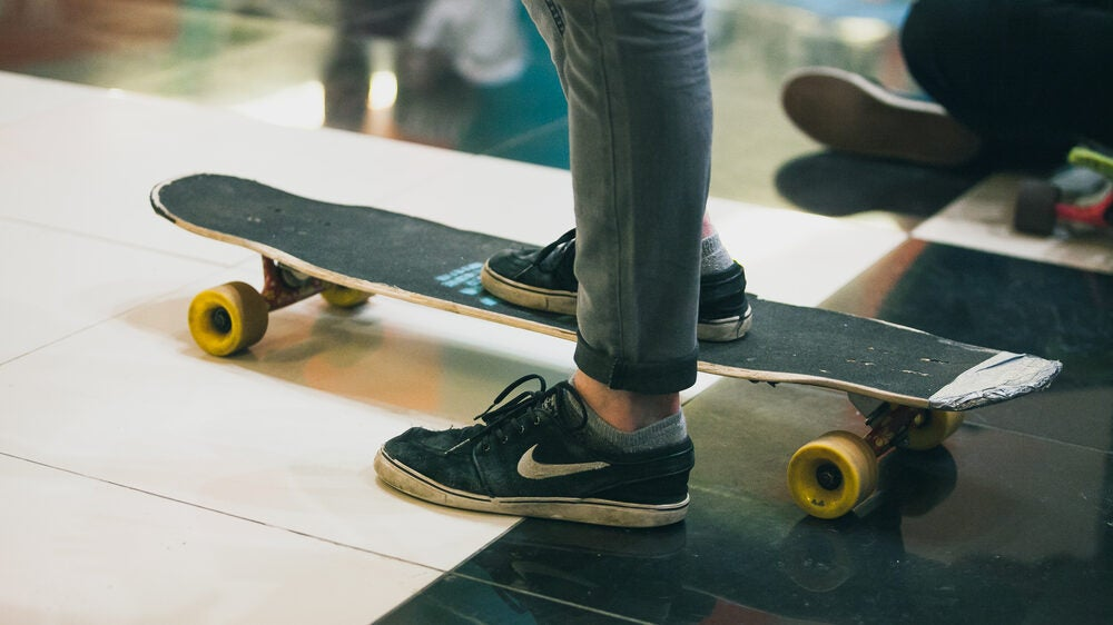 Man With Best Longboarding Shoes