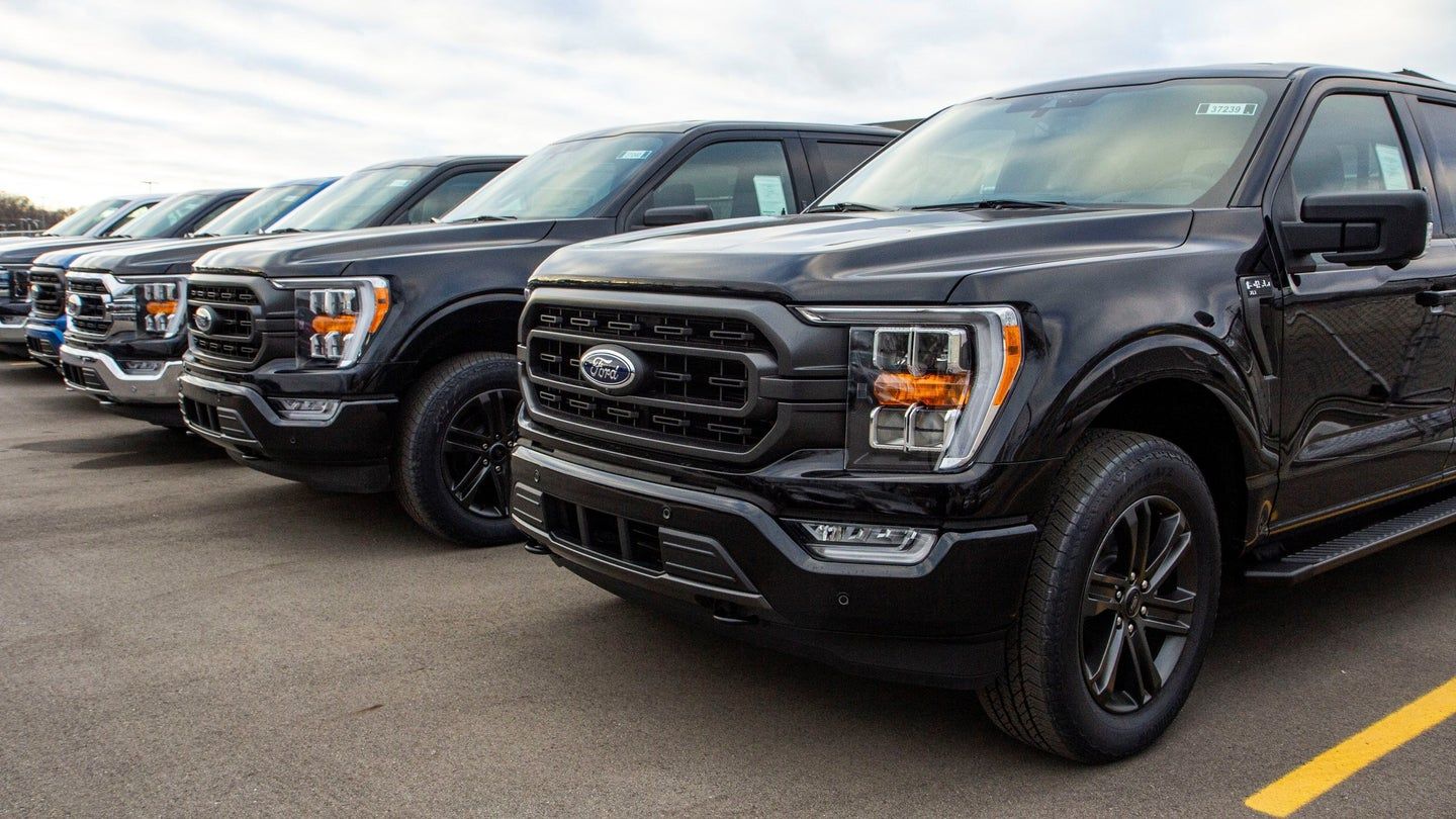 2021 F-150 Ships to Showrooms