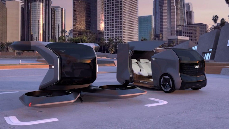 General Motors Cadillac Concepts: Air Taxi