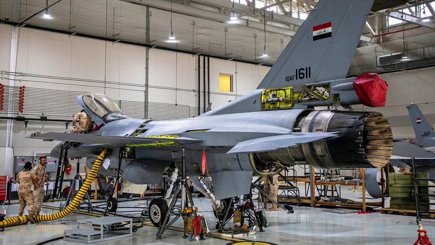 F-16IQ Iraq maintenance