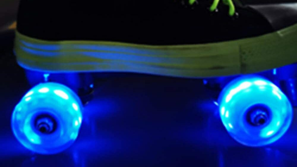 Light Up Quad Roller Skate Wheels