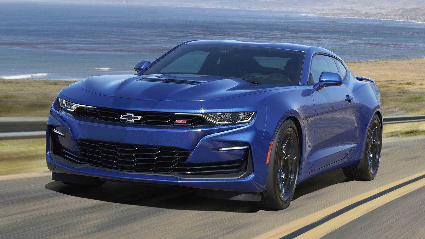camaro production halted lead