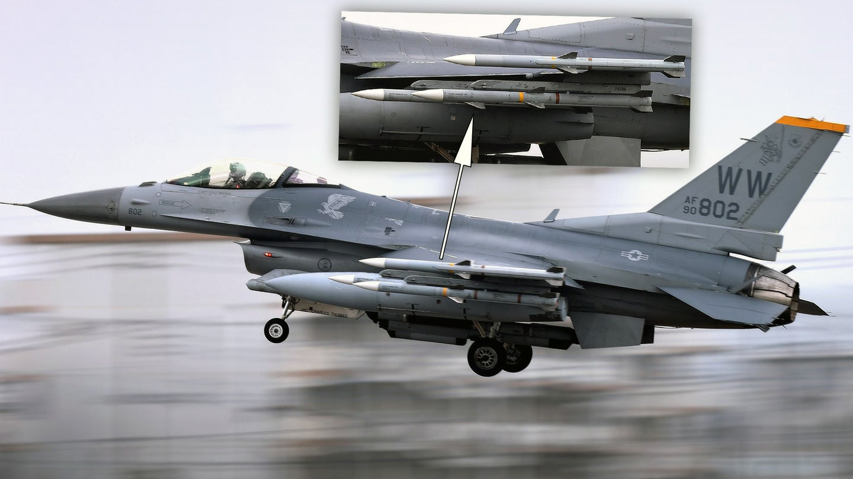 F-16CM Japan South China Sea