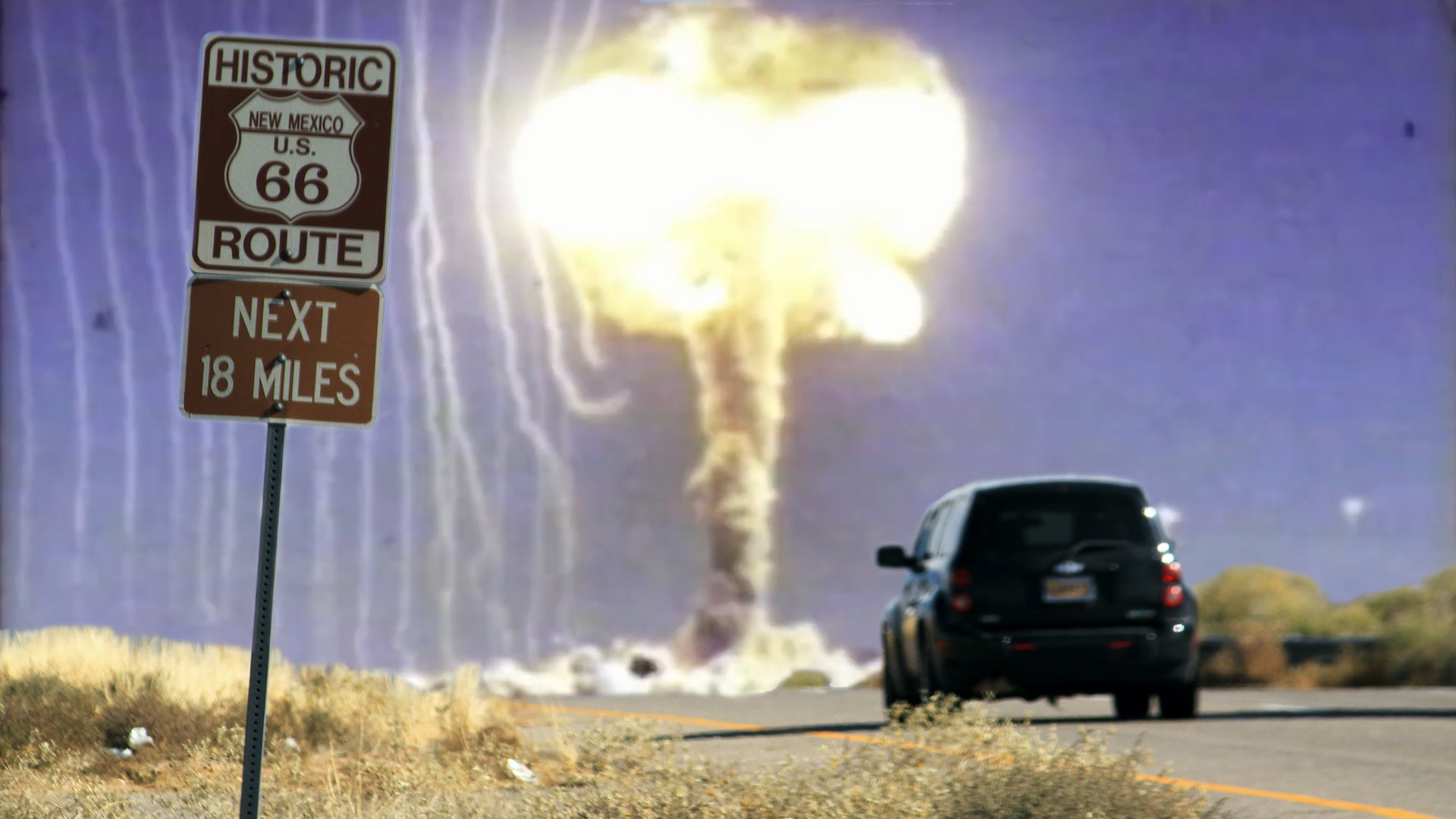 America Almost Made a New Route 66 With 22 Nuclear Bombs