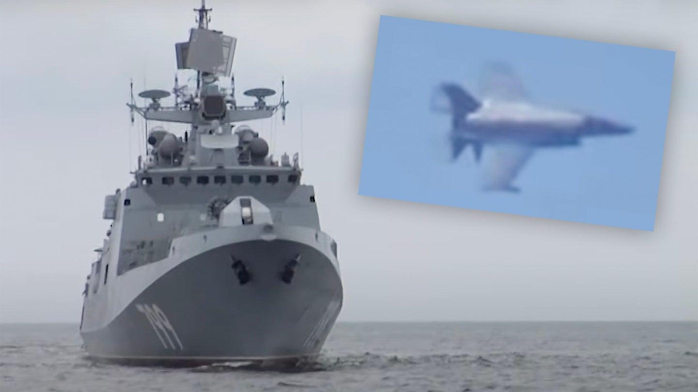 Admiral Makarov and F-35B