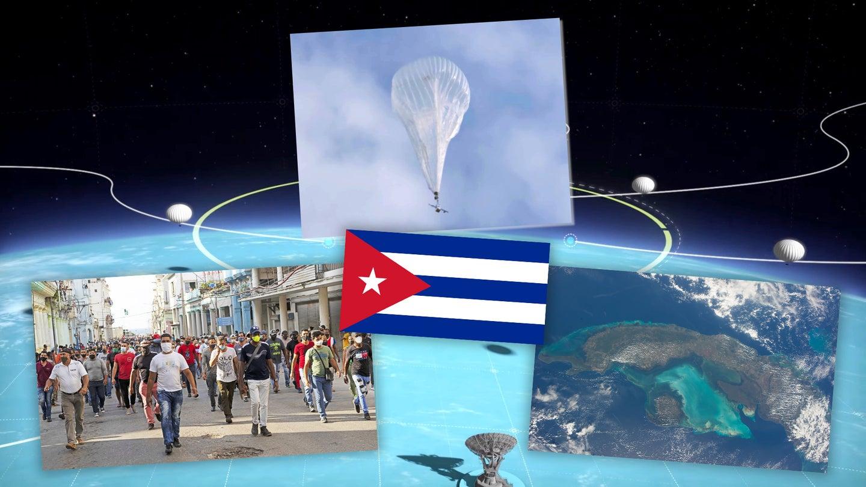 Internet Balloons Over Cuba