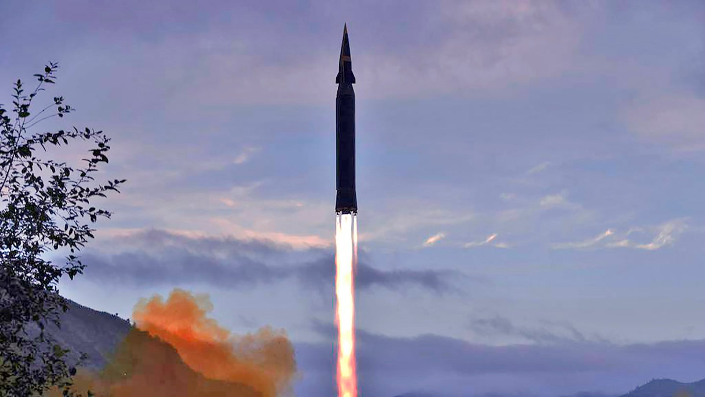 North Korea Claims To Have Tested A Hypersonic Missile (Updated)
