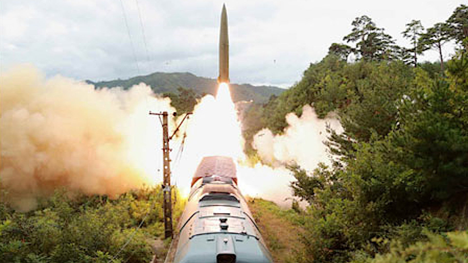 North Korea Is Now Launching Ballistic Missiles From Trains And That's A Big Deal (Updated)