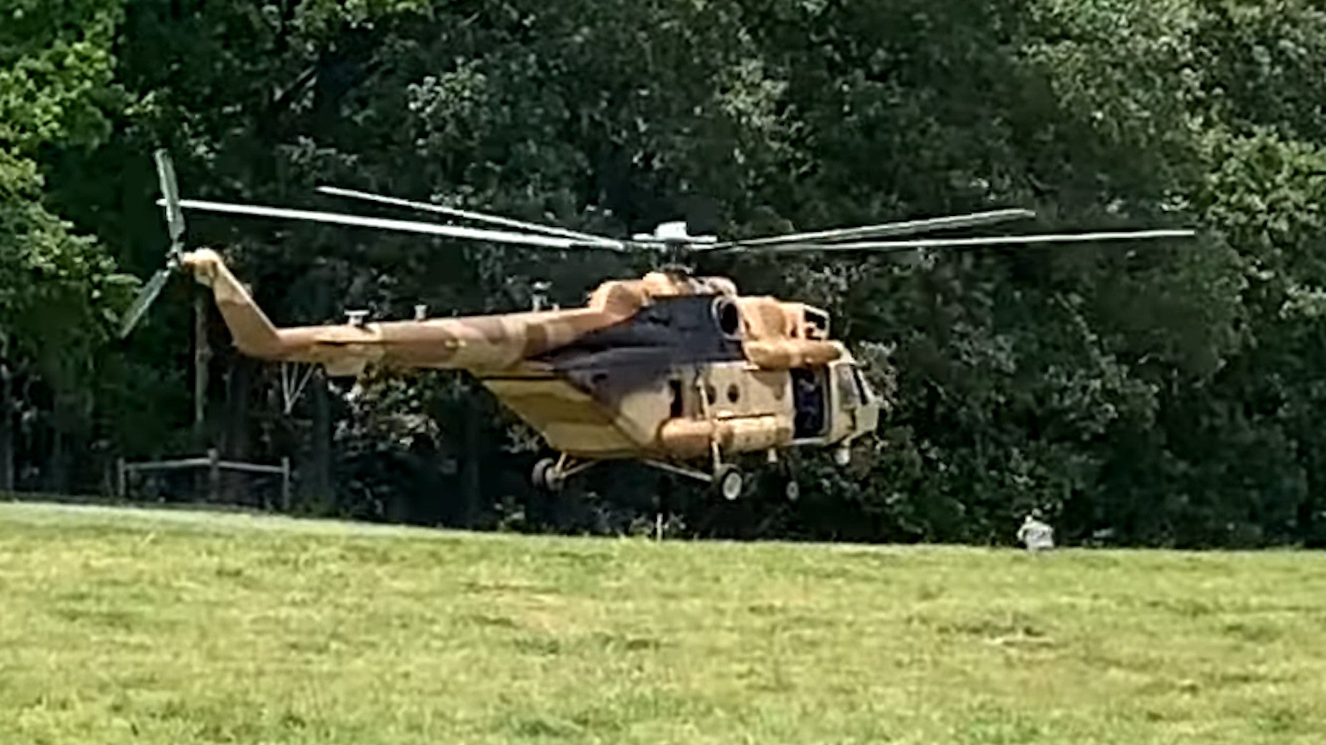 Earlier this year, Dan Moore, who owns a farm in North Carolina, had unusual visits by not one, but two secretive aircraft. After a Russian-made Mi-17