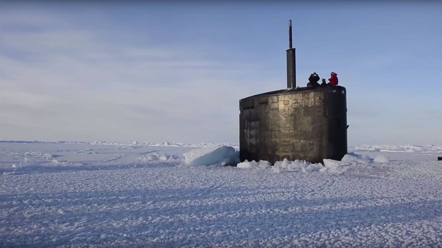 Ice Breaker Submarine