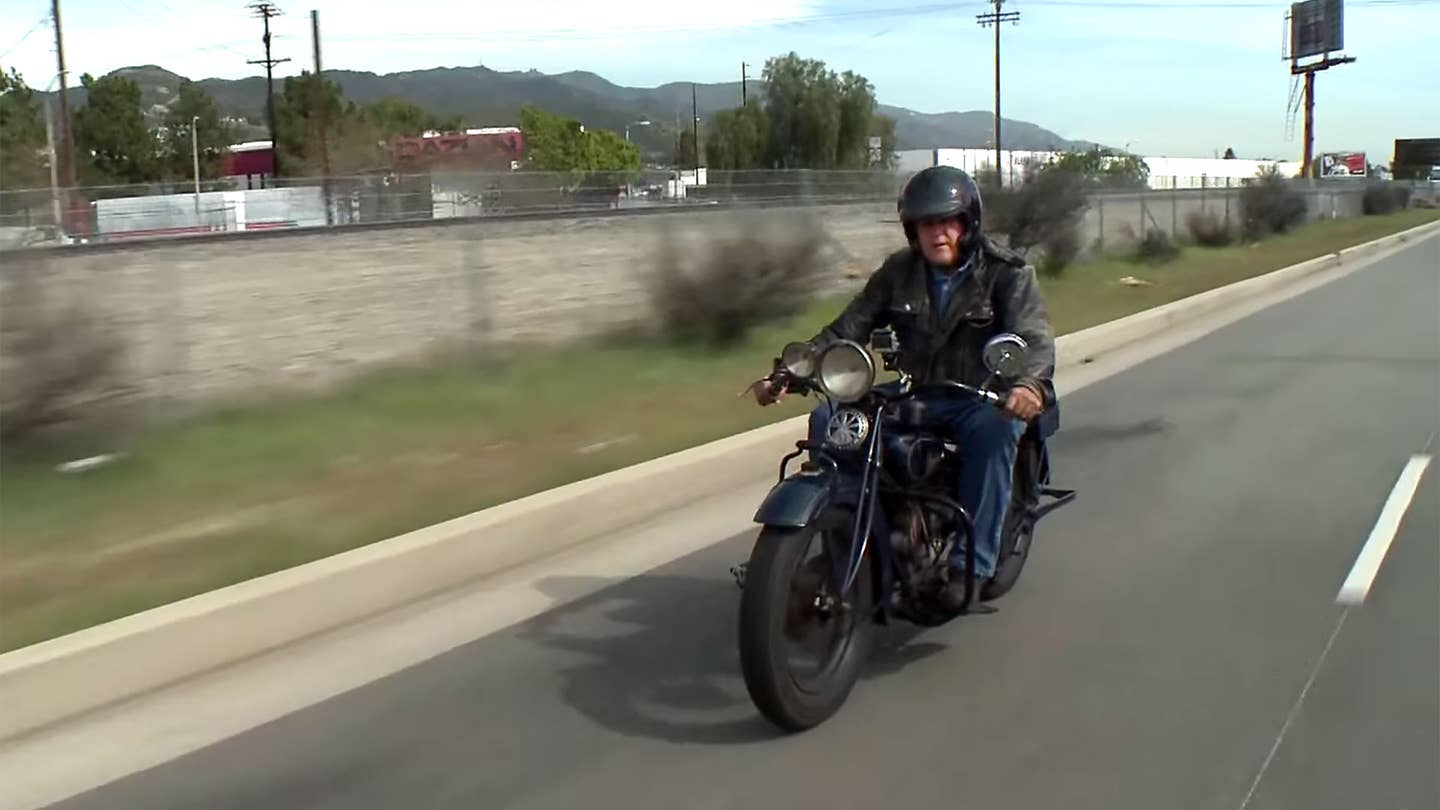 Jay Leno Indian Scout