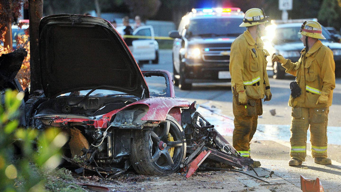 Paul Walker Crash Porsche Lawsuit