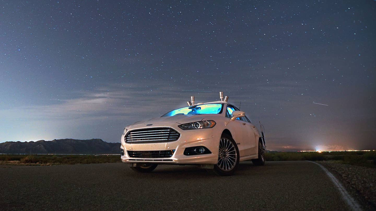 Ford Self-Driving Car Dark
