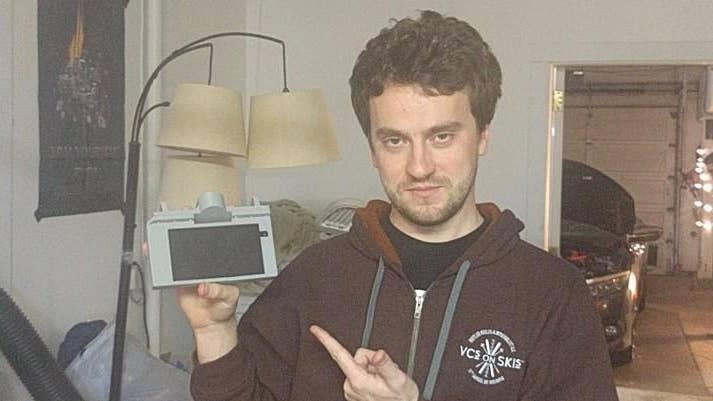 George Hotz and grey Comma One