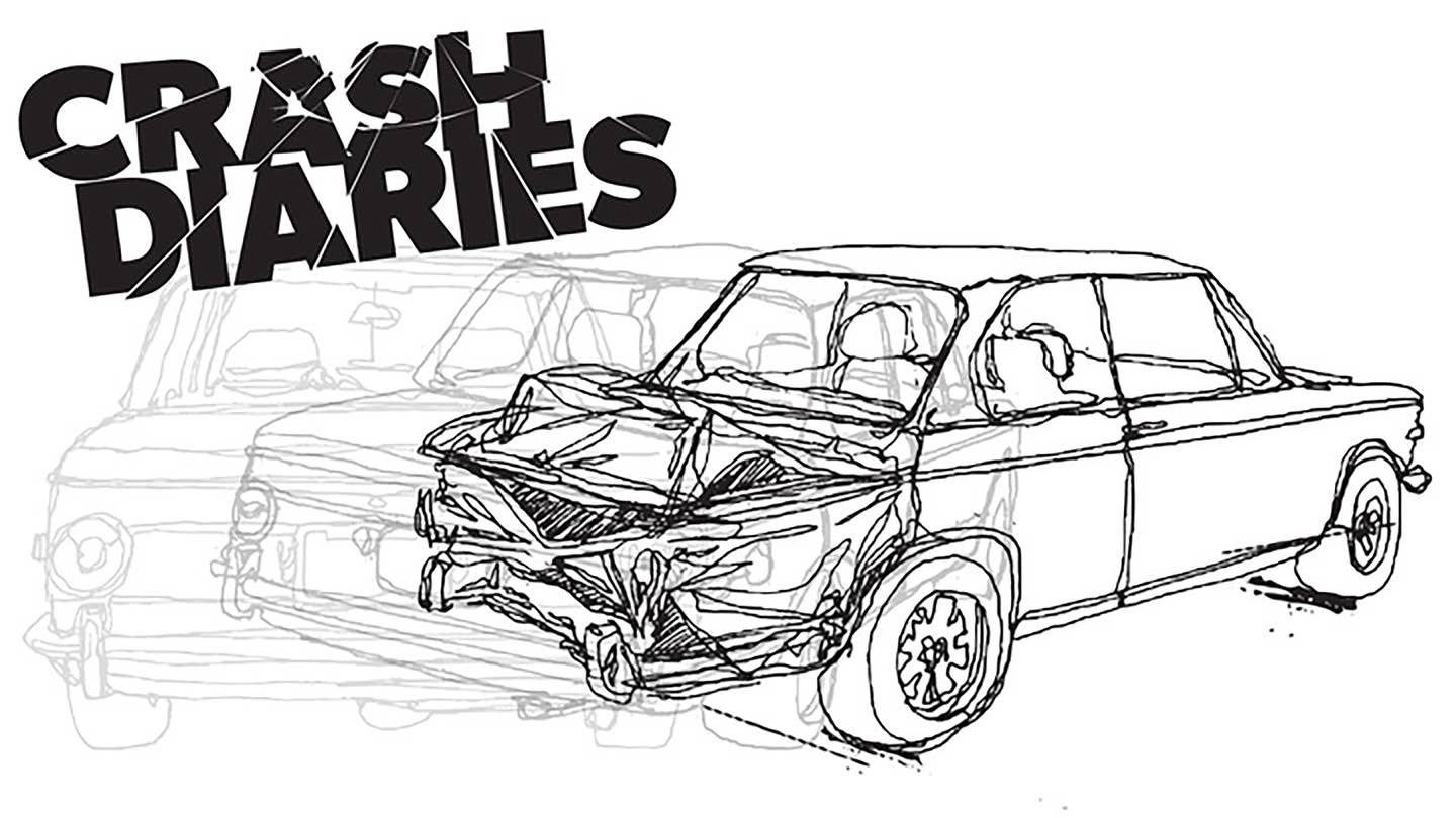 BMW 2002 Crash Diary