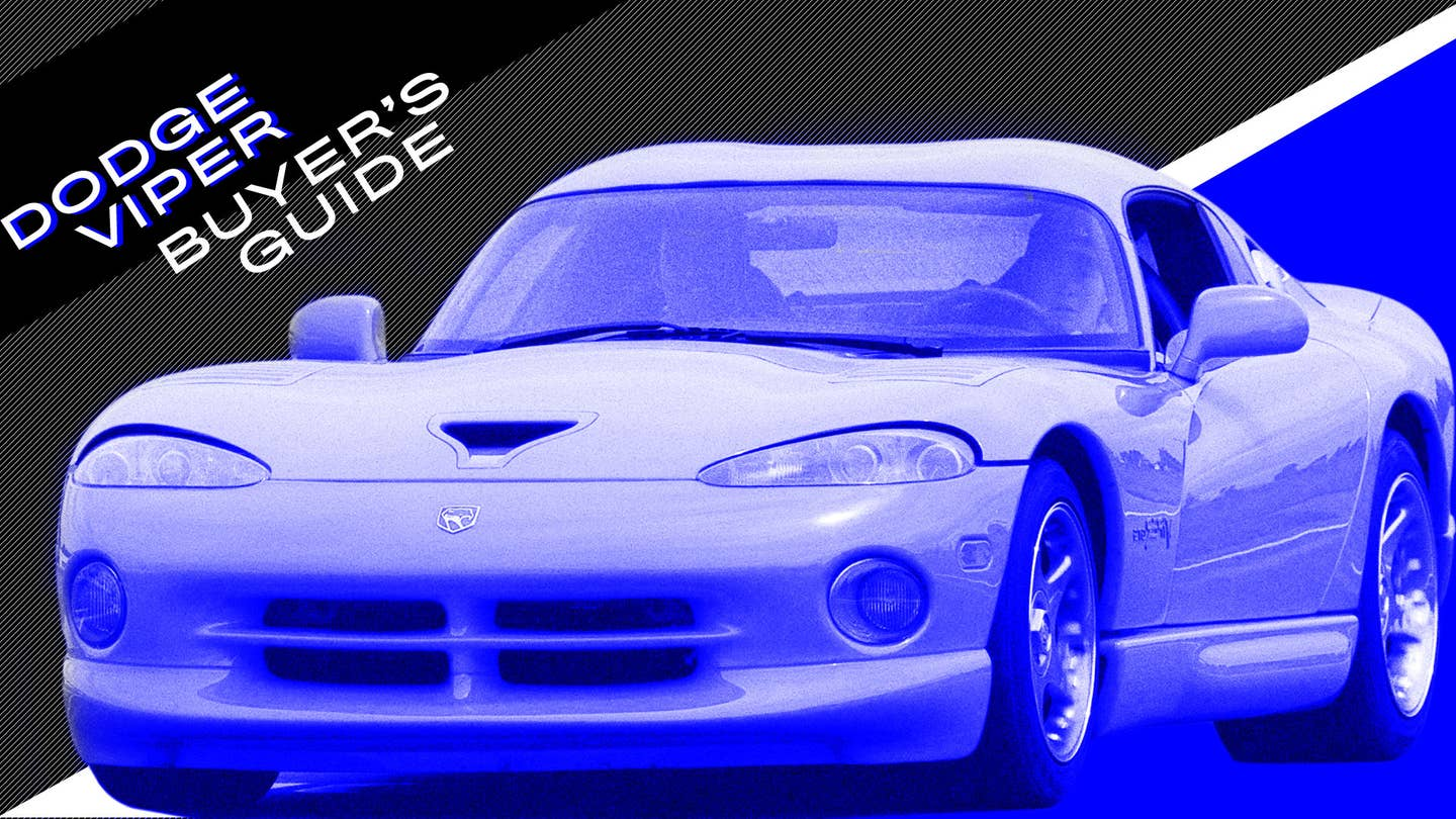 Dodge Viper Buyers Guide