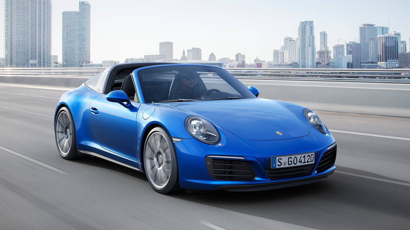 Porsche 911 Targa 4S Review