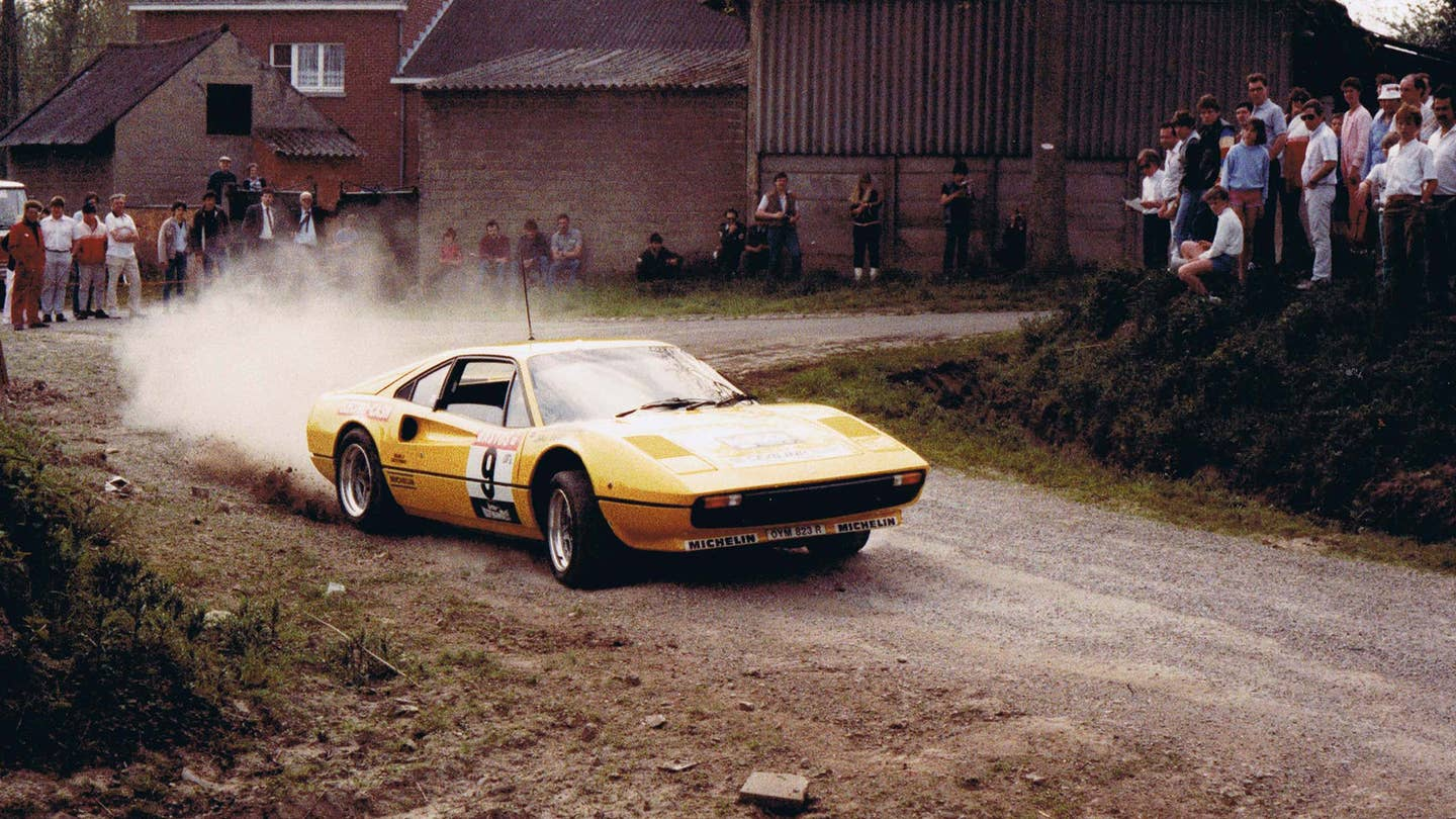 Group B Ferrari