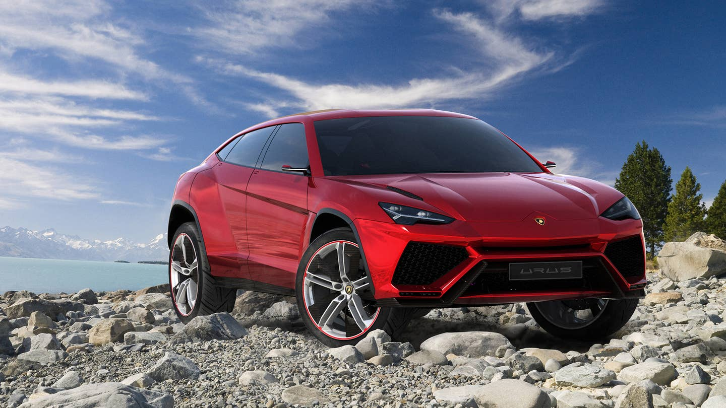 lamborghini urus suv turbocharger turbo the drive
