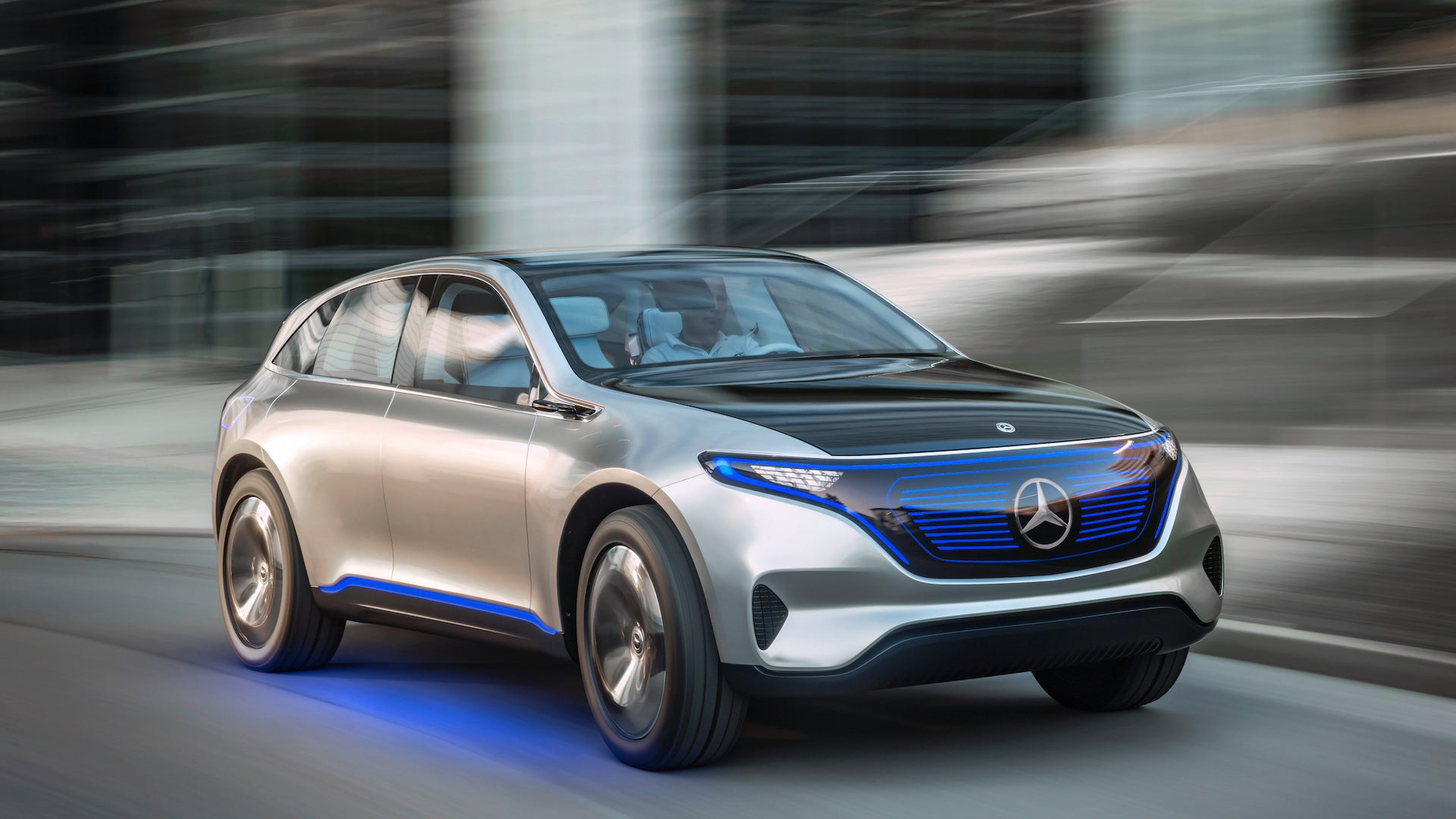 mercedes-benz suv eq electric the drive