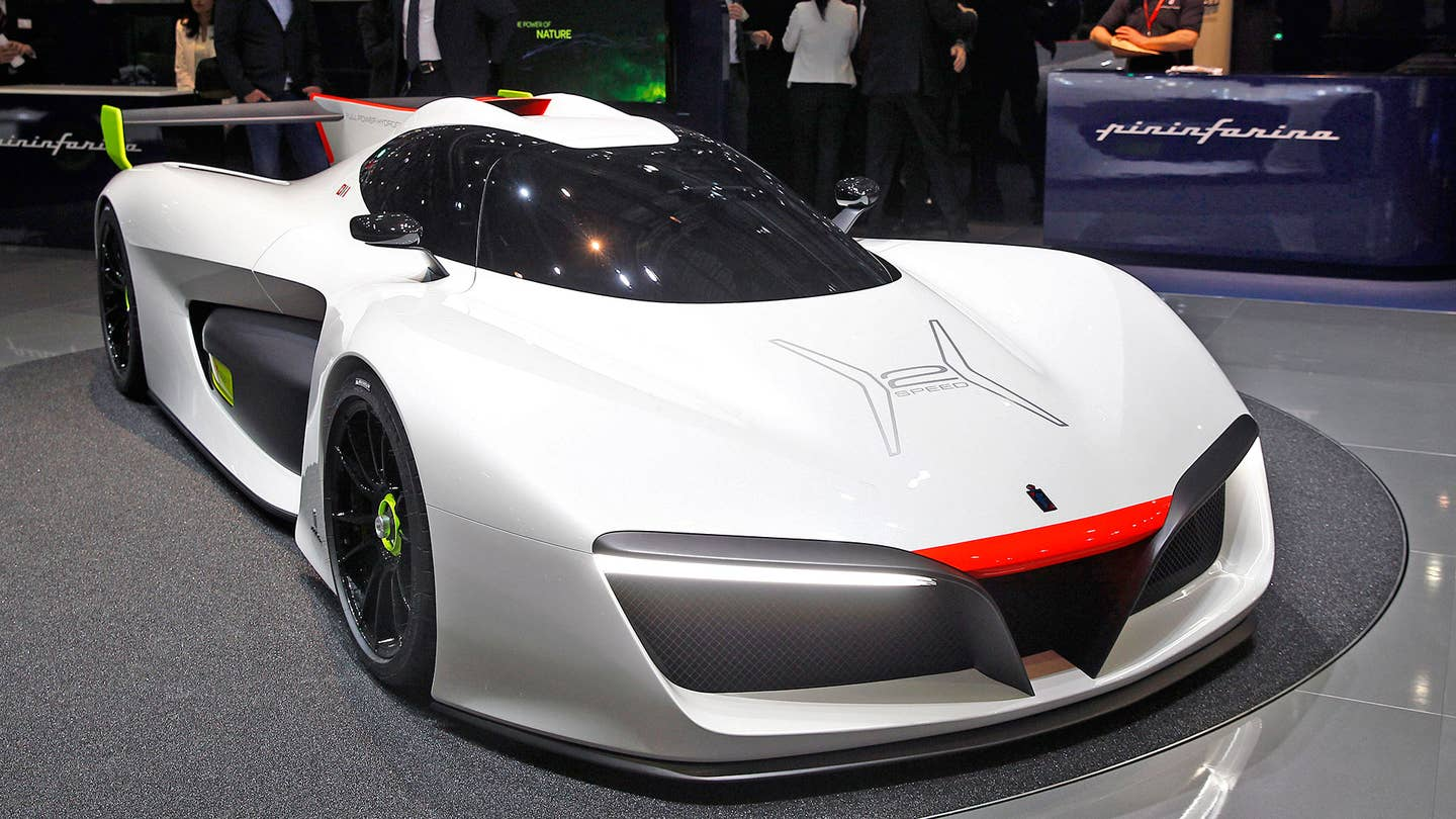 pininfarina h2 speed fuel cell concept production supercar